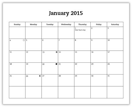 Jan2015 calendar page